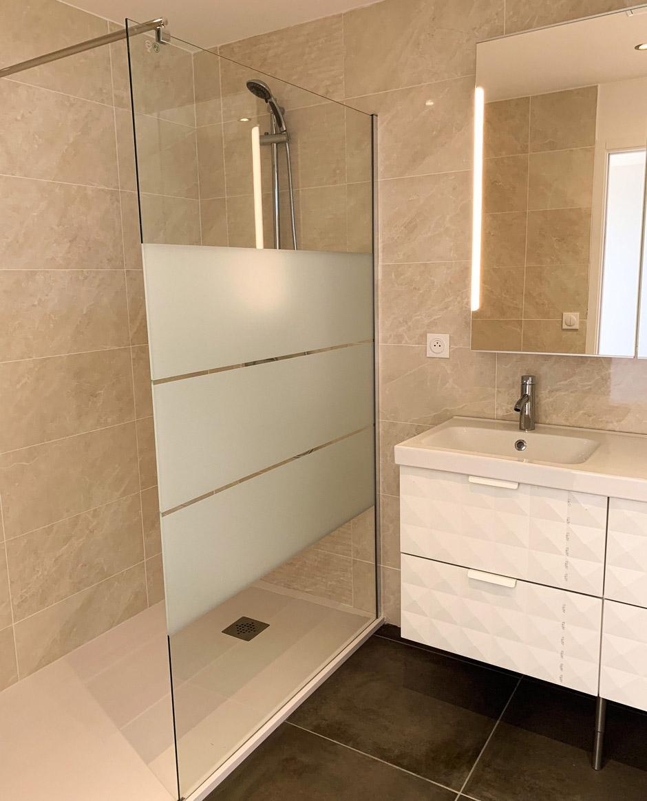 Rénovation de salle de bain Bordeaux - Barros Eco